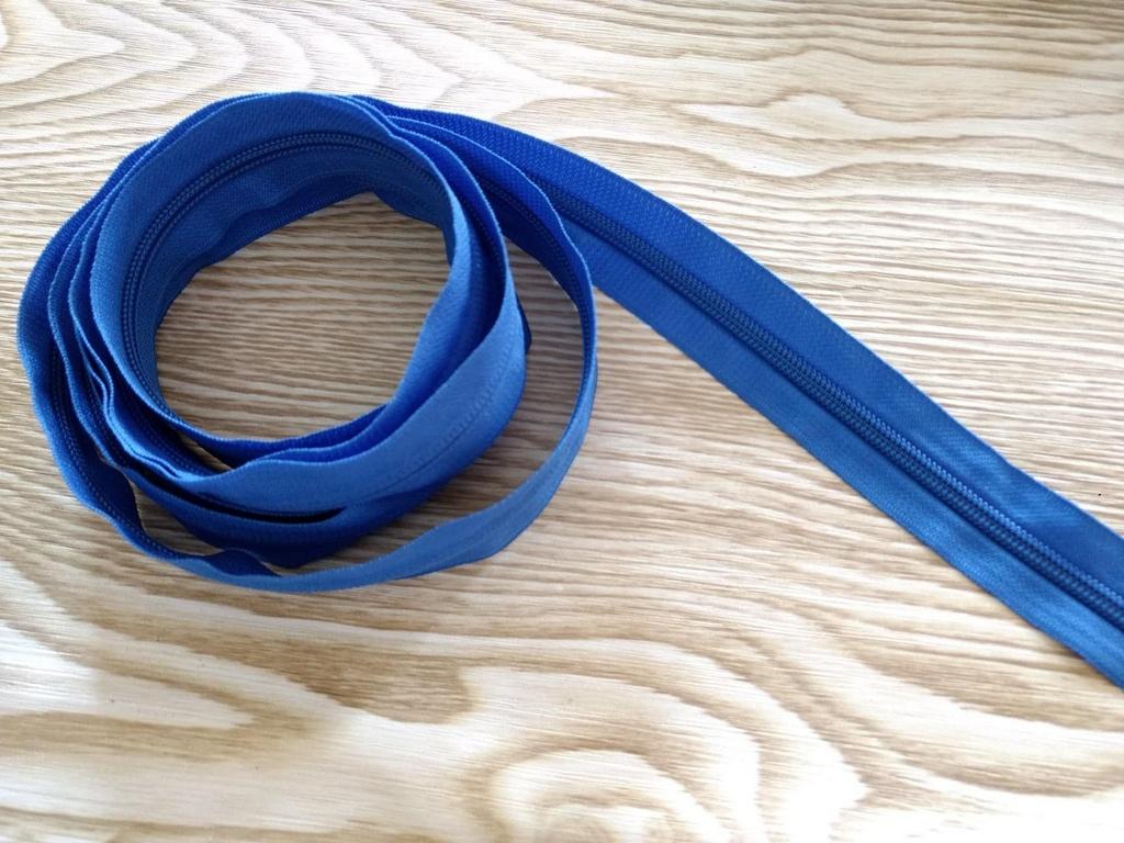 Zíper Grosso nº 5 (3 cm) - Azul Royal