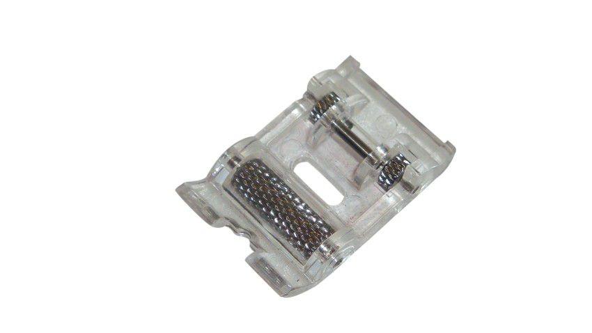 Calcador/ Sapata com Rolete Deslizante para Vinil, Couro e Outros