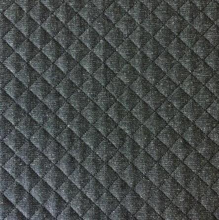 Jeans Preto Matelassê Preto - Preço de 50 cm x 150 cm