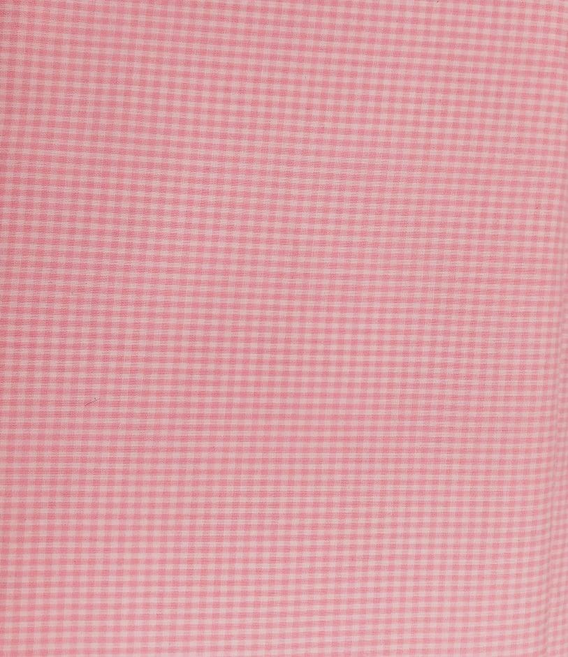 Tecido Tricoline Mini Xadrez Rosa e Branco - Preço de 50 cm X 150 cm