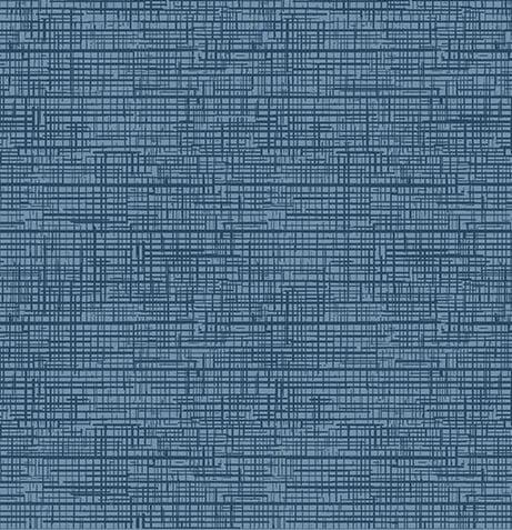 Tecido Tricoline Textura Riscada Azul Jeans