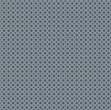 Tecido Tricoline com Estampa de Poá Azul Jeans - Preço de 50 cm x 150 cm