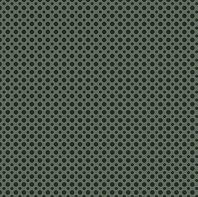Tecido Tricoline com Estampa de Poá Verde Musgo