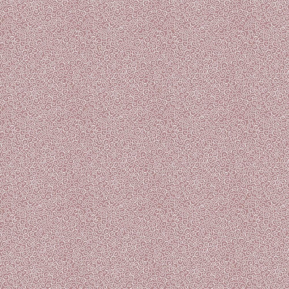 Tecido Tricoline Micro Caracol - Fundo Rosa Rei - Preço de 50cm x 150cm