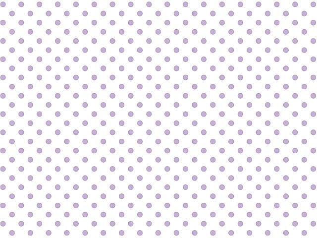 Tecido Tricoline Poá Lilás Pequeno - Fundo Branco