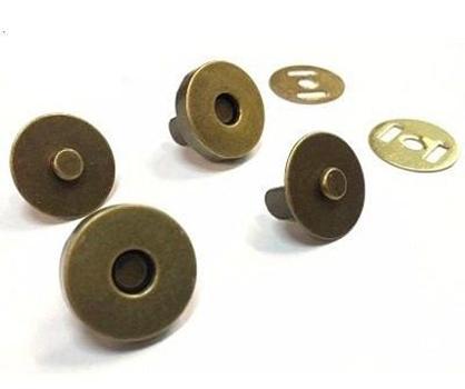 Botão Magnético (Ouro Velho) - Diâmetro 14 mm
