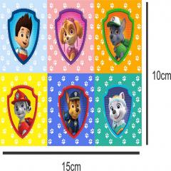 Tecido Estampa Exclusiva de Personagens - Patrulha Canina - 100% poliéster - Preço de 80cm x 60cm