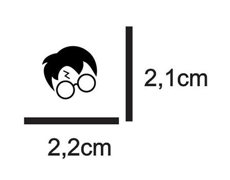 Tecido Estampa Exclusiva de Personagens - Harry Potter- 100% poliéster - Preço de 80cm x 60cm