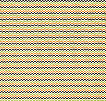 Tecido Tricoline Mini Chevron Branco, Azul Marinho, Laranja e Verde  - Preço de 50 cm X 150 cm