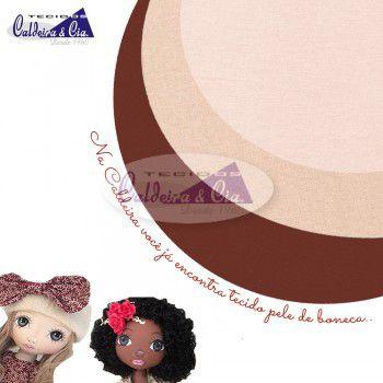 Tecido para pele de boneca ou corpo - Rosado - 100% algodão - Preço de 50cm x 150cm