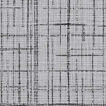 Tecido Tricoline Textura Riscada Cinza - Coleção Neutro Tom Tom