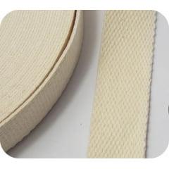 Alça Chic Para Bolsa de Poliéster Marfim - 3 cm