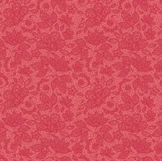 Tecido Tricoline Renda - Fundo Rosa Antigo - Coleção 2 - Preço de 45 cm x 150 cm