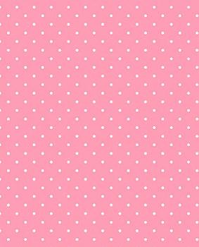 Tecido Tricoline  Estampa Micro Poá Branco Fundo Rosa Tutti Frutti