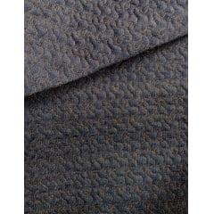Jeans Matelassê Laranja - Caminho de Bêbado - Preço de 50cm x 150cm