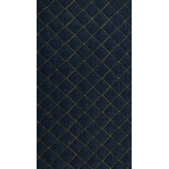 Jeans Matelassê Amarelo - Preço de 50cm x 150cm