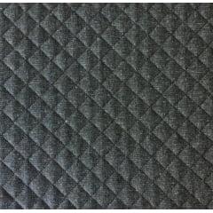 Jeans Chumbo Matelassê Preto - Preço de 50 cm x 150 cm