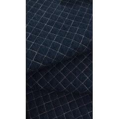 Jeans Matelassê Rosê - Preço de 50cm x 150cm