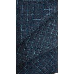 Jeans Matelassê Azul Claro - Preço de 50cm x 150cm