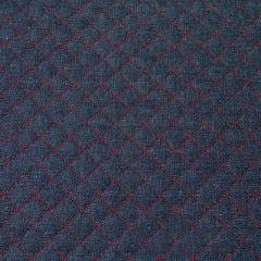 Jeans Matelassê Vermelho - 40 cm