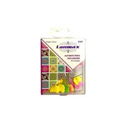Alfinetes Coloridos Formato de Urso - 4,5 cm de Comprimento