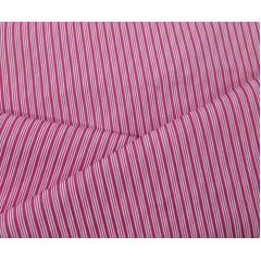 Tecido Tricoline Listrado Rosa Pink e Branca - Preço de 50 cm X 150 cm