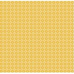 Tecido Tricoline Cruz e Estrela - Fundo Mostarda - Preço de 50 cm x 150 cm