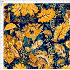 Tecido Tricoline Digital Floral Zahra