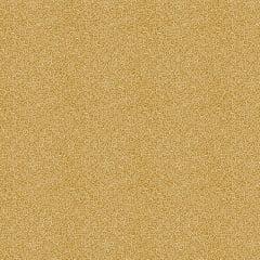 Tecido Tricoline Micro Caracol - Fundo Mostarda - Preço de 50 cm x 150 cm
