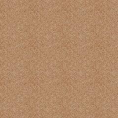 Tecido Tricoline Micro Caracol - Fundo Castanho - Preço de 50 cm x 150 cm