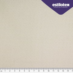 Tecido Tricoline Micro Poá Areia - Coleção Poá Chic - Preço de 50 cm X 150 cm
