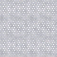Tecido Tricoline Mini Estrelas - Fundo Poeira Nuvem - Preço de 50cm x 150cm