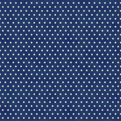 Tecido Tricoline Mini Estrelas - Fundo Poeira Azul Marinho - Preço de 50cm x 150cm