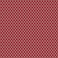 Tecido Tricoline Mini Vitral Treliça - Fundo Vermelho - Preço de 50 cm x 150 cm