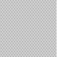 Tecido Tricoline Mini Vitral Treliça - Fundo Cinza - Preço de 50 cm x 150 cm