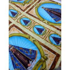 Tecido Tricoline Painel Nossa Senhora Aparecida - Preço de 90cm x 150cm