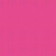 Tecido Tricoline Micro Poá Branco - Fundo Rosa Pink - Preço de 50 cm x 150 cm