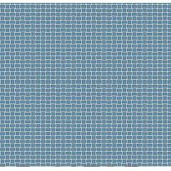 Tecido Tricoline Quadradinhos Azul Jeans - Preço de 50cm x 150cm
