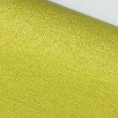 Tecido Metalizado Mostarda - Preço de 50cm x 150cm