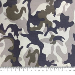 Tecido Tricoline Camuflado - Preço de 50cm x 150cm