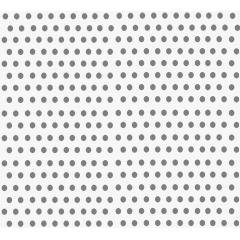 Tecido Tricoline de Poá Cinza - Fundo Gelo - Preço de 50 cm x 150 cm