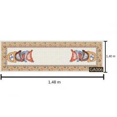 Tecido Tricoline Digital Passadeira Galinhas - - Coleção Galinha Country - Preço de 40 cm x 148 cm