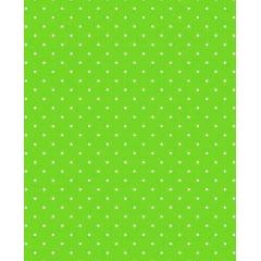 Tecido Tricoline  Estampa Micro Poá Branco Fundo Verde Pistache - 40 cm