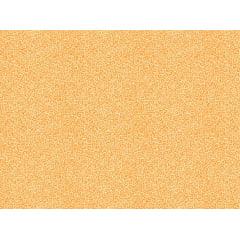 Tecido Tricoline Micro Caracol - Fundo Laranja - Preço de 50cm x 150cm
