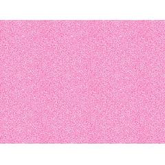 Tecido Tricoline Micro Caracol - Fundo Rosa Chiclete - Preço de 50 cm x 150 cm