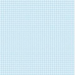 Tecido Tricoline Micro Pied De Poule Azul Claro - Preço de 45 cm x 150cm