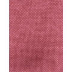 Tecido Tricoline Micro Poá Branco com Poeira - Fundo Rosa Antigo - Preço de 50 cm X 150 cm