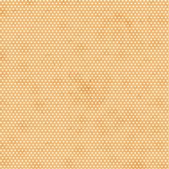 Tecido Tricoline Mini Corações - Fundo Poeira Pêssego - Preço de 50cm x 150cm