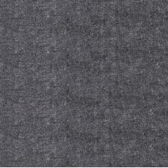 Tecido Tricoline Textura com efeito Jeans na cor Cinza - Preço de 50 cm x 150 cm