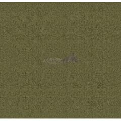 Tecido Tricoline Textura Crackelada Verde Musgo